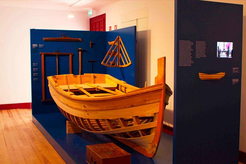 Das Meeresmuseum (Museu Marítimo) von Sesimbra