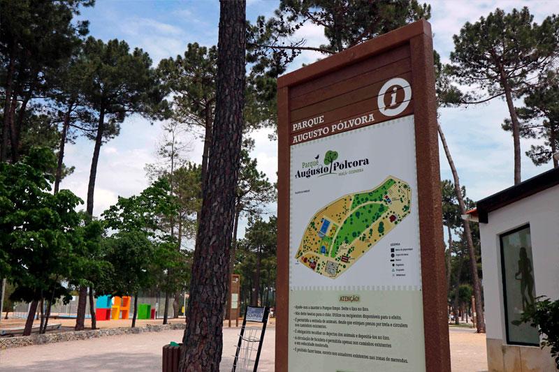 Der Park Augusto Pólvora