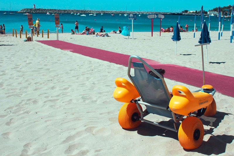 La plage pour tous